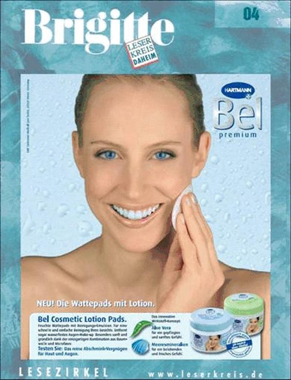Elischeba Wilde - Model für Bel Premium Kosmetik von Hartmann