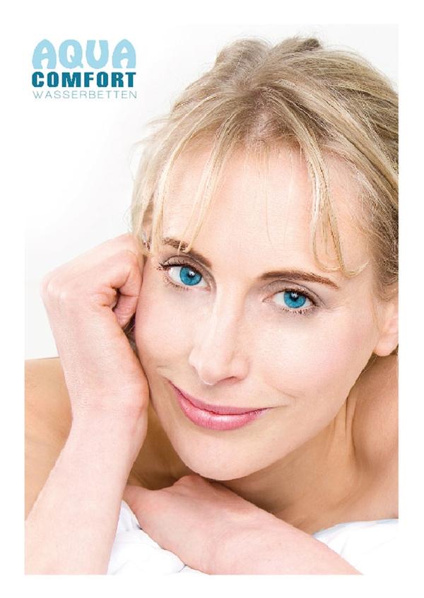 Elischeba Wilde - Katalogmodel für Aqua Comfort Wasserbetten