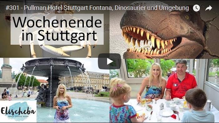ElischebaTV_301 Pullman Hotel Stuttgart Fontana - Dinosaurier und Umgebung