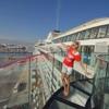 Elischeba auf AIDAprima im Hafen - Kreta