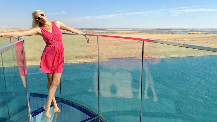 Elischeba auf der AIDA prima - Mallorca Dubai Tour