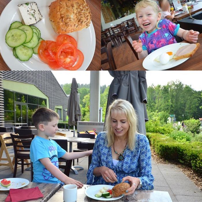 breakfast im Center Parc