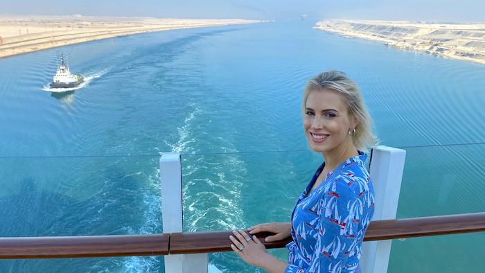 Elischeba auf dem Suezkanal