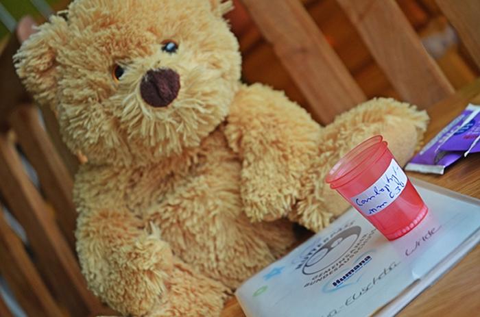 Teddybär mit Globuli
