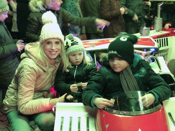 Karussell auf dem Weihnachtsmarkt in Dortmund
