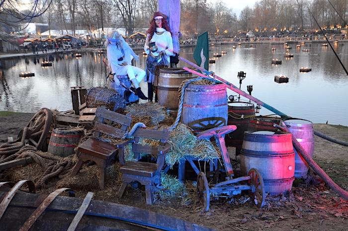 Mittelalterweihnachtsmarkt in Dortmund - Piraten