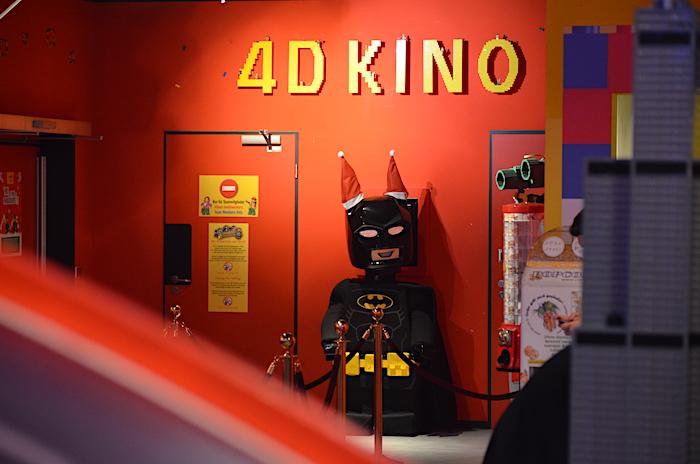 4-D Kino im Legoland Discovery Centre Oberhausen