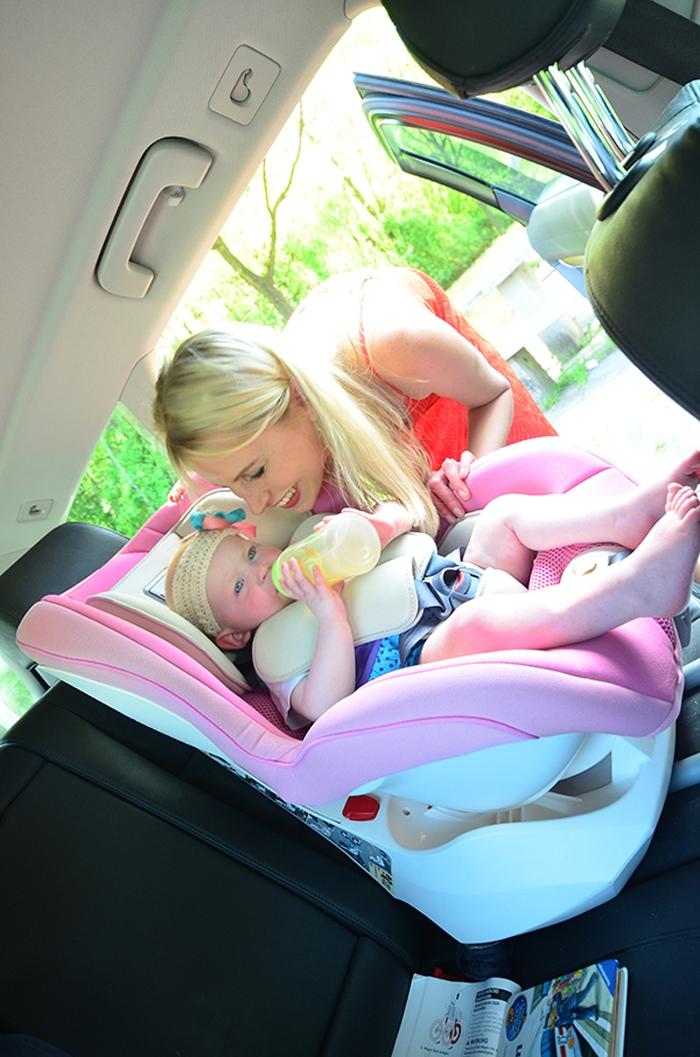 Autositz für Kids - Elischeba und Emily