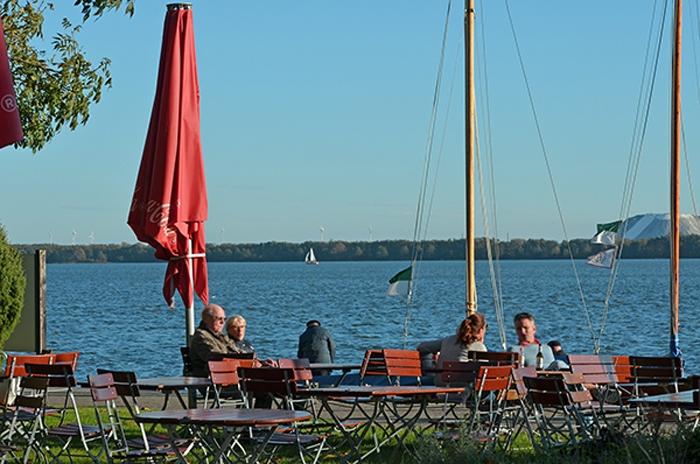 Cafe auf der Insel Wilhelmstein