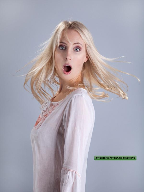 Elischeba Wilde - Fashion Fotoshooting für das fair gehandelte Modelabel FAIRTRAGEN