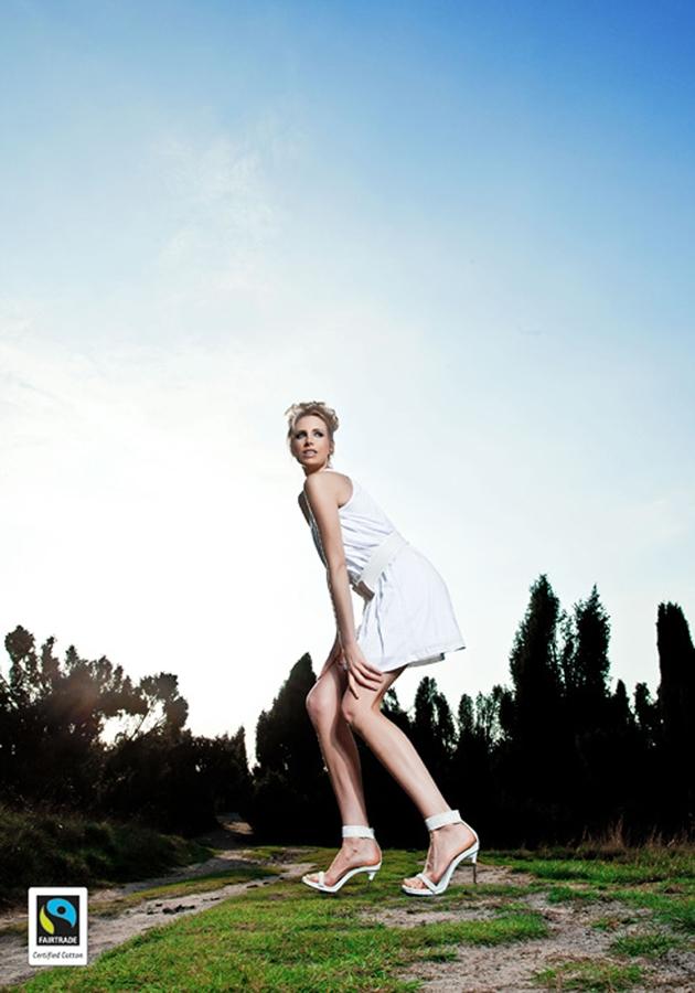 Elischebas Fairtrade Fashion Shooting Westruper Heide