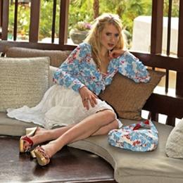 Elischeba liebt Clogs - Fotoshooting für CANCUN Bikini and Beachwear in Thailand