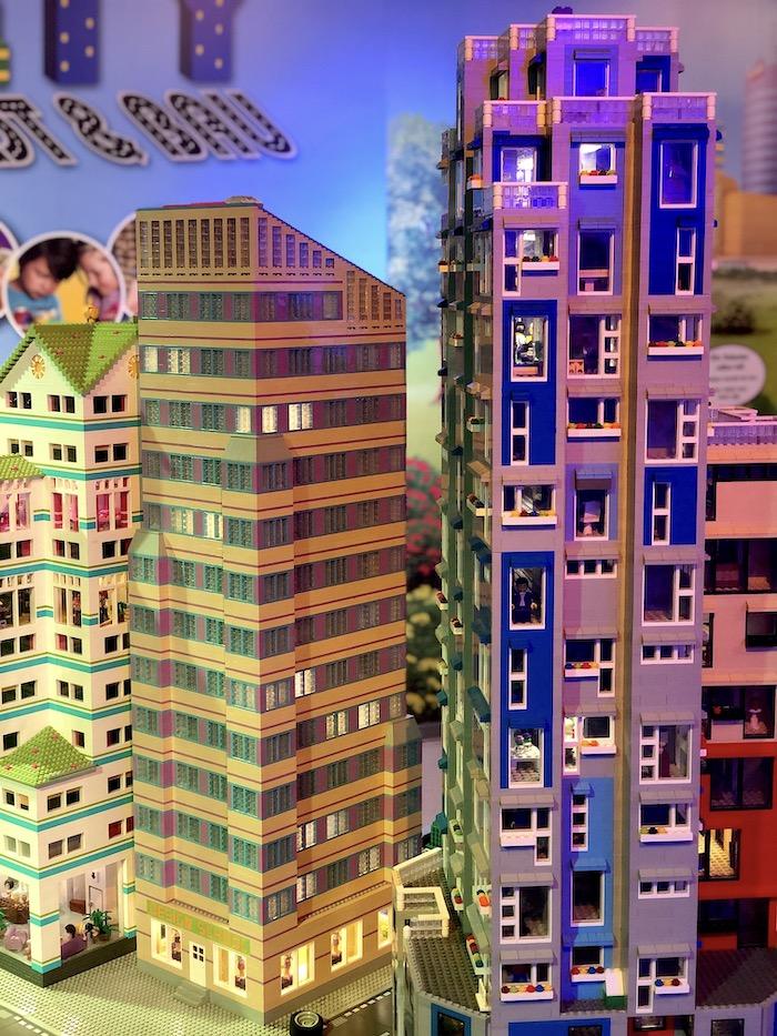 Hochhäuser im Legoland Oberhausen