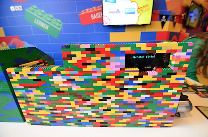 Kasse im Legoland Oberhausen