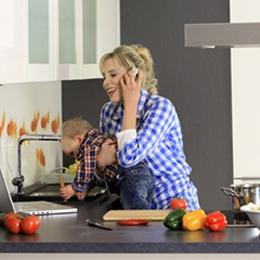Elischebas Lifestyle Shooting im Küchenstudio Willemsen