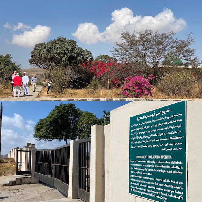 Dhofar das Grab des Hiob