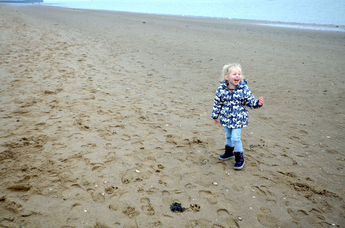 mit Kindern an der Nordsee