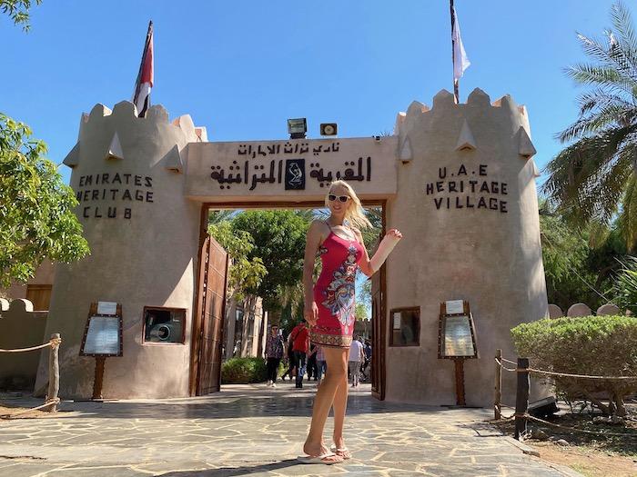 UAE Heritage Village in Abu Dhabi