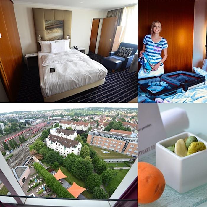 Zimmer im Pullman Hotel Stuttgart Fontana