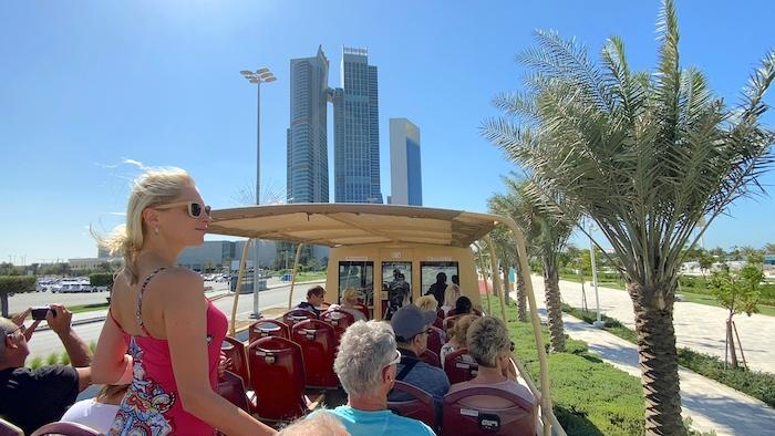 Bustour durch Abu Dhabi