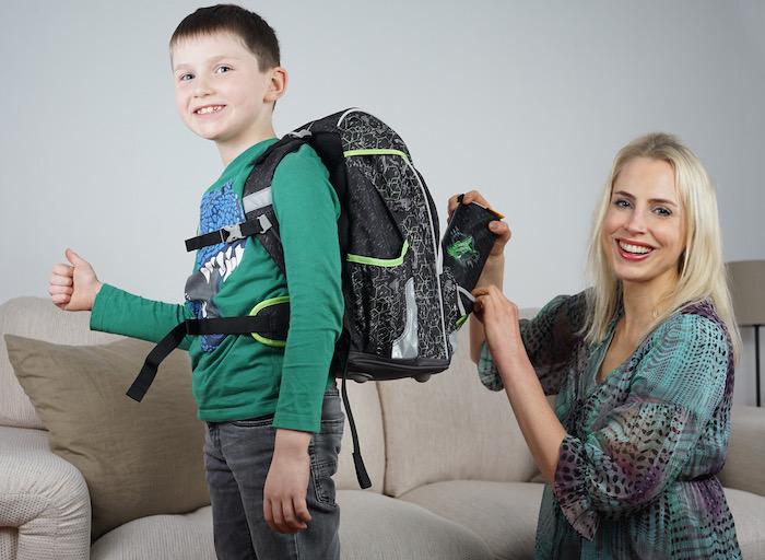 für die Schule fertig machen - derdiedas Rucksack