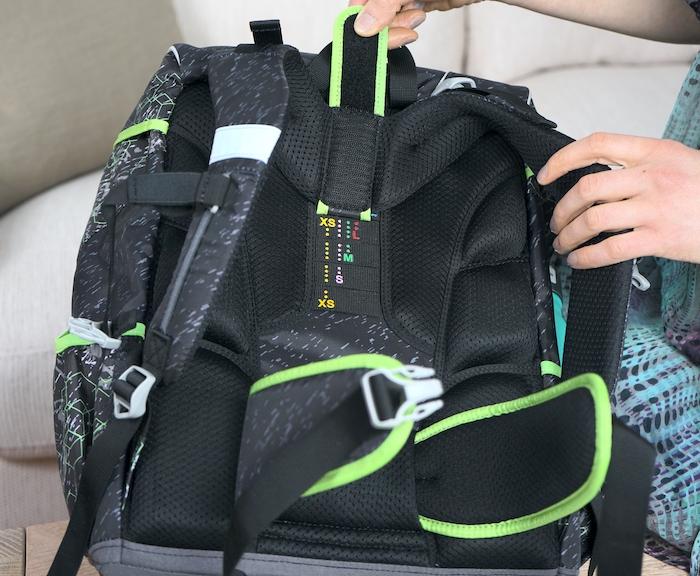 Größe anpassen - derdiedas XL Rucksack