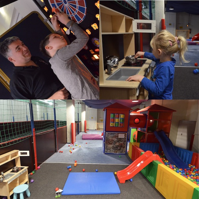 Indoor Spielplatz im Kinderhotel
