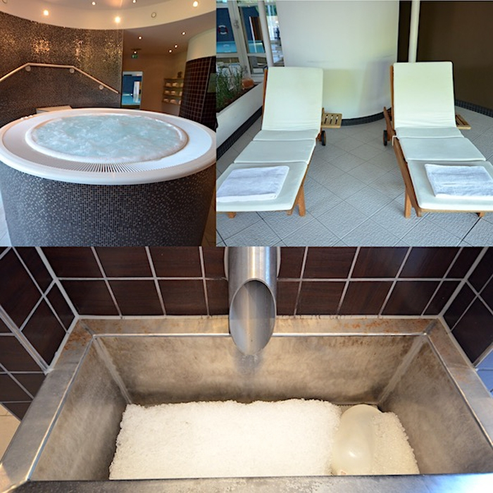 Sauna im Hotel Pullman Stuttgart Fontana