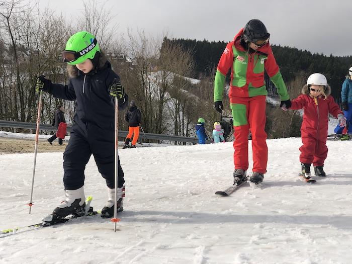 Skikurs mit Kindern in Winterberg im Sauerland