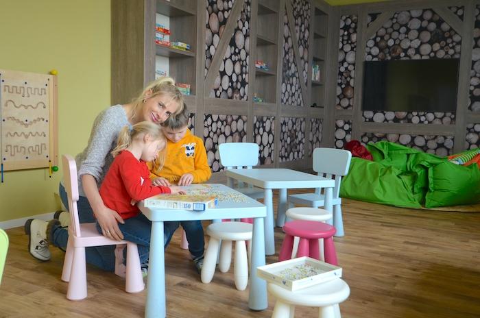 Spielzimmer im Dorint Hotel in Winterberg