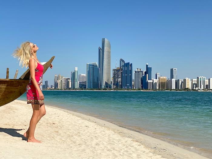 we love Abu Dhabi
