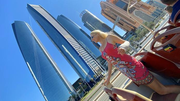 Wolkenkratzer in Abu Dhabi