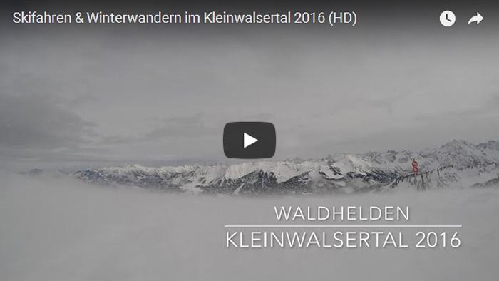 Skifahren und Winterwandern im Kleinwalsertal 2016