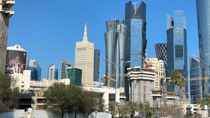 Baustellen in Katar