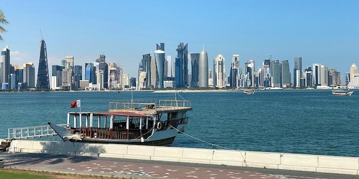 Skyline von Dohar in Katar