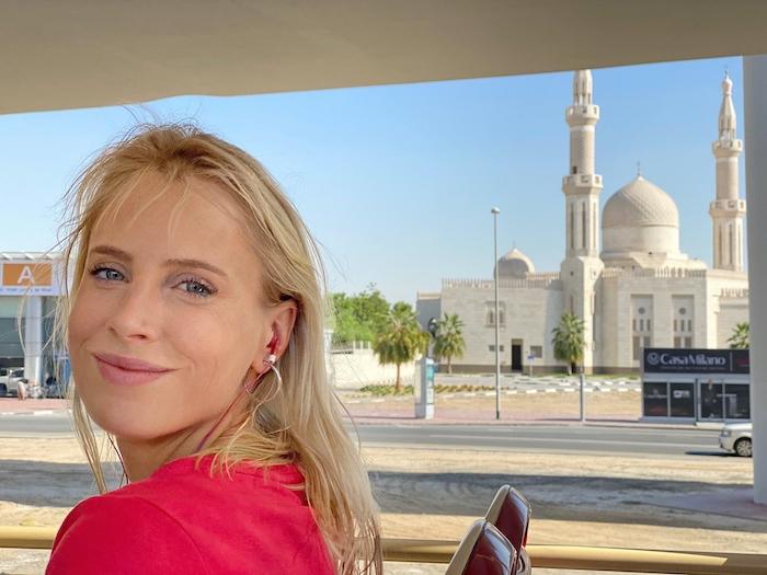 Elischeba auf Stadtrundfahrt in Dubai