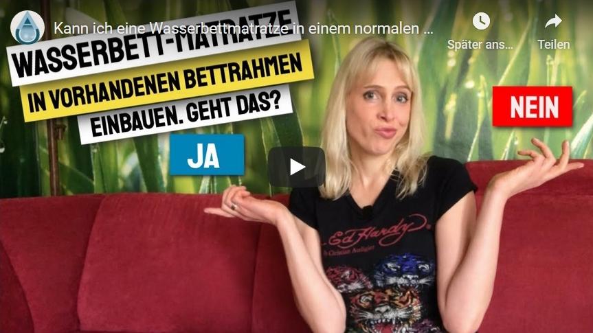 Elischeba Wilde ist das neue Gesicht für Aqua Comfort auf YouTube