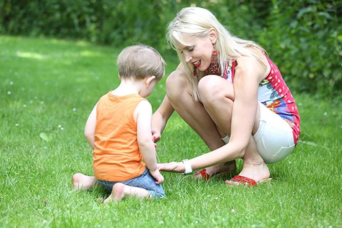 Elischeba und Leon - Mutter und Kind 2014