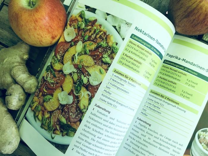 Rezept Nektarinen-Tomaten-Salat