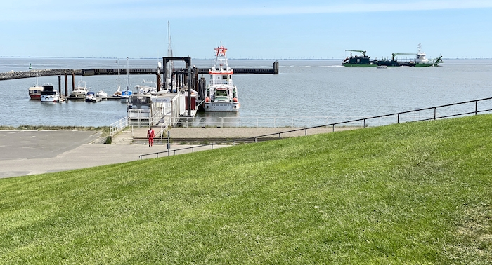 Boote in Cuxhaven
