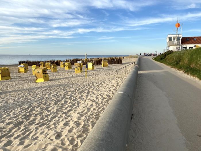 Cuxhaven Duhnen - am Strand