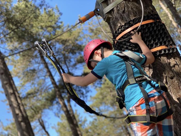 Kletterpark - ab welchem Alter geeignet