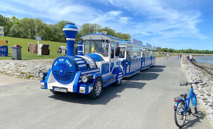 STS Fun Train - Touristenbahn durch Cuxhaven