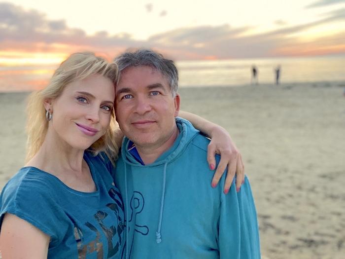 Elischeba und Pierre - verliebt am Strand