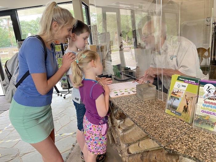 Family Wilde im Naturmuseum Holterberg