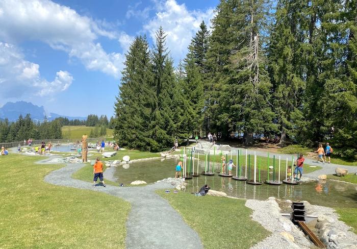 Timoks Wasserspiele in Fieberbrunn