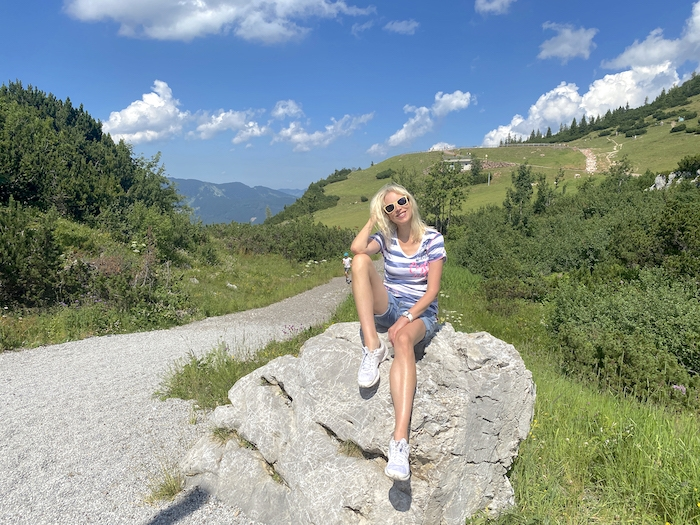 Berge - Österreich - blonde Frau - Elischeba Wilde