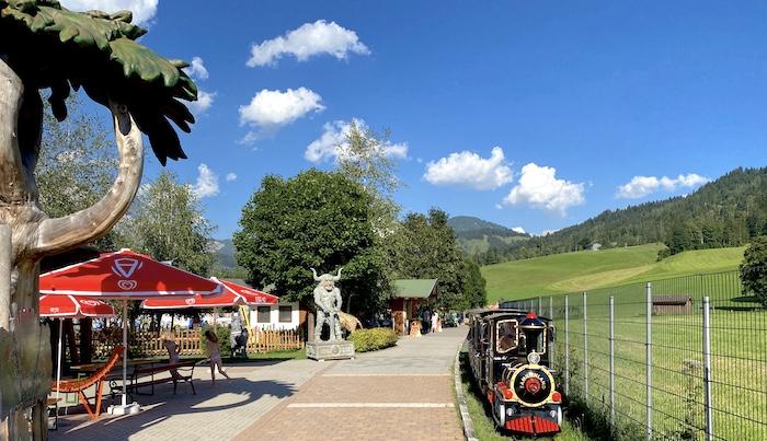Bummelbahn im Familienland Fieberbrunn
