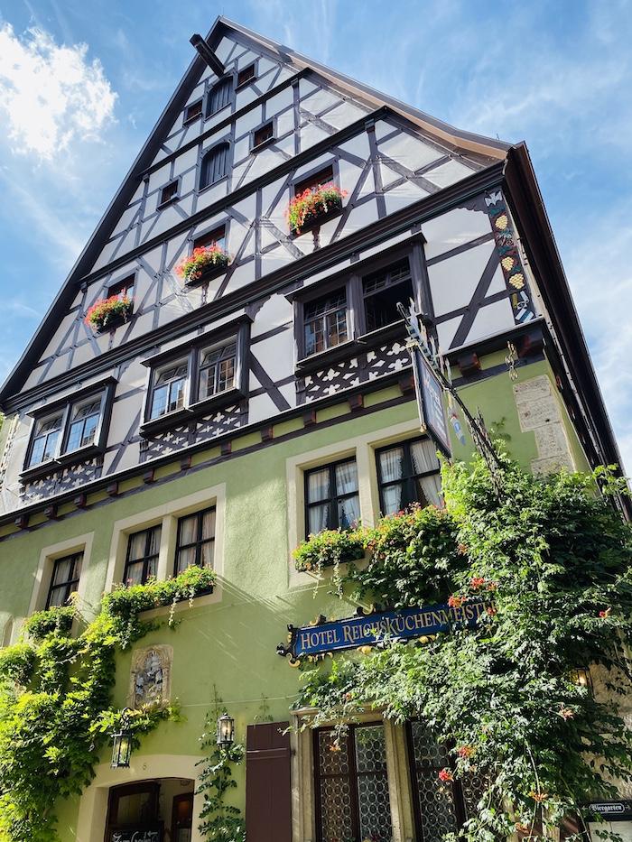 Fachwerkhaus in Rothenburg ob der Tauber