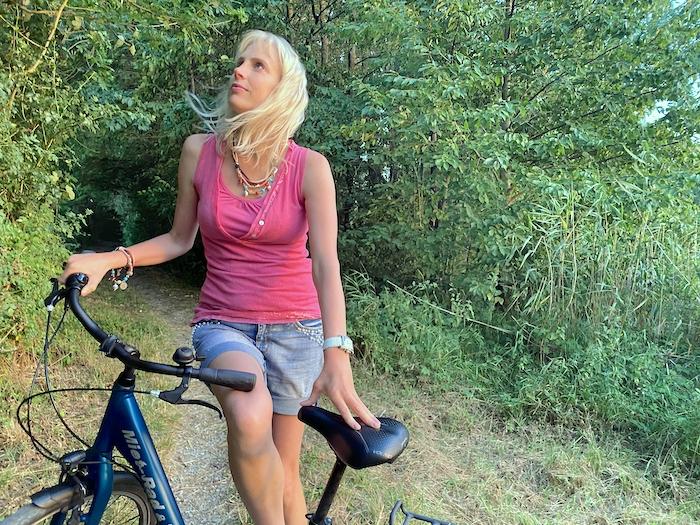 Elischeba Wilde - Fahrrad fahren in Rothenburg ob der Tauber